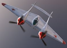 The Grokhovsky G-38 was to be a twin-seat fighter-bomber.  Work on the aircraft began in 1934.  The first prototype was nearly complete when the Soviet government cancelled the project in 1938.