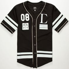 CIVIL Regime Mens Baseball Jersey 251754100 | Jerseys