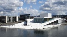 My (one day) trip to Norway will start in Oslo at the Opera House (photo by Christopher Hagelund)