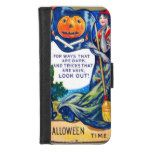 Falln Look Out Halloween Time iPhone 8/7 Wallet Case #halloween #happyhalloween #halloweenparty #halloweenmakeup #halloweencostume