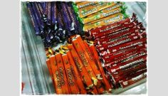 Sugus Sticks Orange C, My Childhood, Art Supplies, Traditional, Snacks, Treats, Finger Food, Appetizers