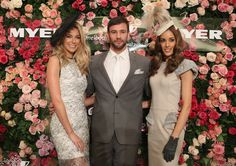 rose wall for 50 years of Fashions on the Field with Myer and VRC