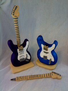 PolyPens (Polymer Clay Pen Sets | polymer clay refillable electric guitar pen set polymer clay ...