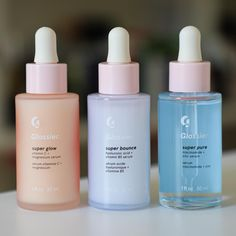 The snapshot glossier super serums 28 day glowing skin challenge Beauty Care, Beauty Skin, Beauty Tips, Beauty Products, Diy Beauty, Lush Products, Face Products, Serum, Parfum Victoria's Secret