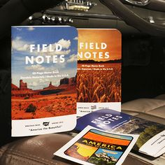 """FIELD NOTES COLORS:""""AMERICA THE BEAUTIFUL"""" EDITION $9.95"""