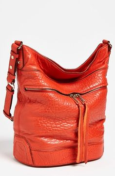 Rebecca Minkoff 'Quinn' Bucket Bag available at #Nordstrom Love me an orange purse:)