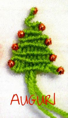 il macramè di sabrina: albero per auguri