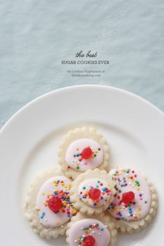Aubrey & Lindsay's Little House Blog: the best sugar cookies