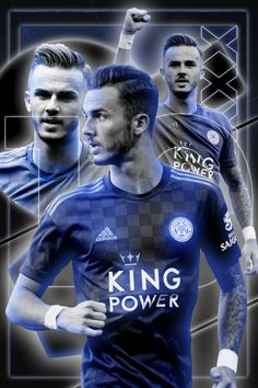 Leicester City Football, Leicester City Fc, Manchester United Poster, Manchester City, Ronaldo Football, Football Players, Fc Barcelona Wallpapers, James Maddison, England National Team