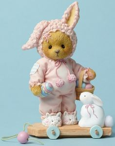 Easter Bears: Cherished Teddies by Artists Priscilla and Glen Hillman
