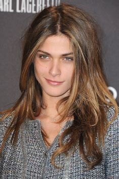 Elisa Sednaoui...if this tweed is not Coco , bloody Chanel me outtahere....please :)