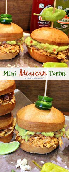 Mini Mexican Tortas