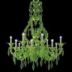 Start bidding or selling at Catawiki's Glass Auction (Exclusive Murano). Pendant Chandelier, Chandelier Lighting, Creepy Home Decor, Green Chandeliers, Designer Chandeliers, Relaxing Colors, Italian Chandelier, Charles Rennie Mackintosh, Venetian Glass