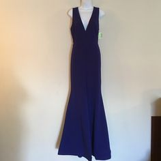Royal Blue Windsor dress Royal Blue Windsor dress, has split down the front, strapless, very cute.  Never worn. My daughter found out 3 of her classmates will be wearing the same dress.  We have decided to sale this one and look for another one. Thank you WINDSOR Dresses Prom
