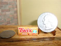 Dollhouse Miniature 1:12 Food & Groceries Candy Bars Prop Box #A4-14 #Unbranded
