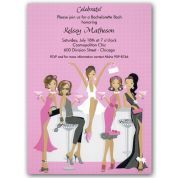 African American Bridal Shower Invitations | Paper Style