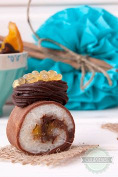 Churretes de Cocholate: MAKI SUSHI COCHOLATE A LA NARANJA