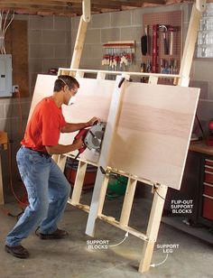 Awesome Garage Workshop Design Ideas and Organizing Your Dreams - Decoration . - Awesome Garage Workshop design ideas and organizing your dreams – decorating ideas - Kids Woodworking Projects, Woodworking Tool Set, Woodworking Shop Layout, Essential Woodworking Tools, Woodworking Joints, Woodworking Magazine, Popular Woodworking, Wood Projects, Woodworking Furniture