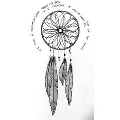 Dream catcher draw Fairy tale
