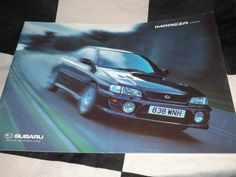 SUBARU IMPREZA 2.0 SERIES TURBO SPORT SALES BROCHURE PROSPEKT ENGLISH RARE 1999