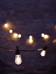 Extendable Teardrop Festoon Lights - Outdoor Lighting - Outdoor Living