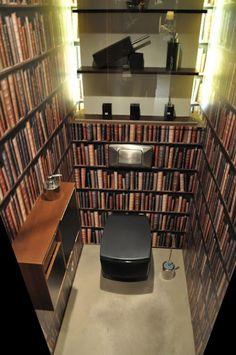 本棚にみせかける壁紙