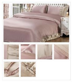 Chic French Ruffles Brim Three-piece Bedding Set,$799.98 Looks Style, My Style, Cowgirl Style, Bedroom Decor, Bedroom Ideas, Master Bedroom, Inspired Homes, Home Interior Design, Silk Dress