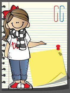 Edible Paper in Creatividades: SCHOOL DAY Cartoon People, Cartoon Kids, School Border, Clever Kids, School Clipart, Teacher Binder, Cute Clipart, Teachers' Day, Binder Covers