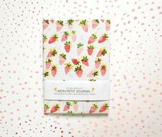 Notebook journal diary watermelon pineapple par SoniaCavallini