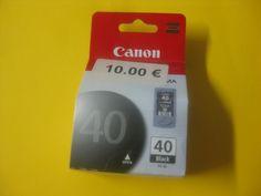 Cartucho Impresora Canon PG 40 - Negro ax-JX200, JX210P; Pixma iP1600, iP1700,