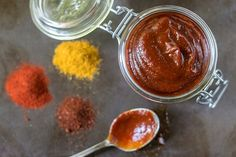 Quick Curry Ketchup :http://www.thekitchenmaus.com/quick-curry-ketchup/