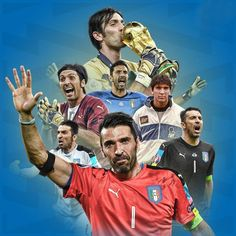 The Italian National Team will not be playing in the upcoming World Cup. Buffon has officially played his last game in an Italian uniform. Roberto Baggio, Best Player, Turin, Goalkeeper, Soccer Players, Worlds Of Fun, Fifa, World Cup, Football