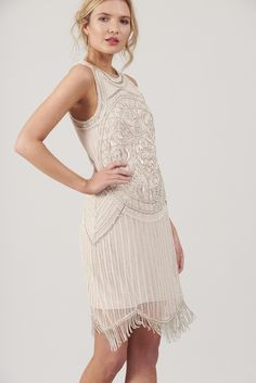 Frock and Frill Valentina Embellished Flapper Dress