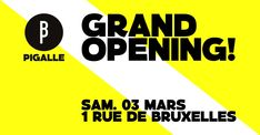 Paris Food & Drink Events: Grand Opening BBP // Pigalle March 3 @ 21:00 - March 4 @ 01:30