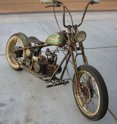 MOTORCYCLE 74: Rusty