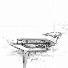 051317 | AA IV. #dailysketchchallenge #architecture #cyclerender #cardesigner #blender #art #sketchbook #interiordesign