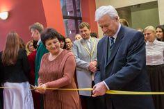 Церемонія відкриття супроводжувалась традиційним перерізанням стрічки
