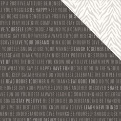 Diy Home Double-Sided Cardstock 12'X12'-Words To Live By *** Learn more by visiting the image link.