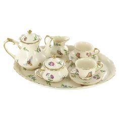 Mini Tea Set Product | Home / Morning Meadows Miniature Tea Service