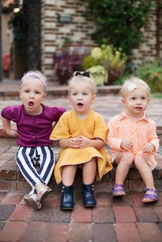 lil ladies in fall colors