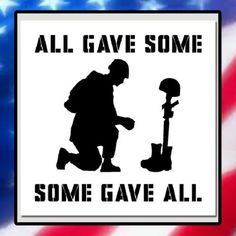 NEW-9-X-9-Kneeling-Soldier-Memorial-STENCIL-Quote-Some-Gave-All-USA-Military