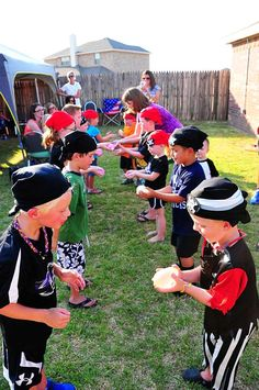 Pirate Birthday Boy Birthday Party Ideas | Photo 17 of 29 | Catch My Party