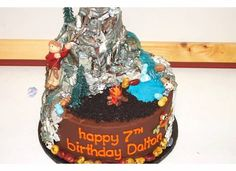 D's rock climbing cake