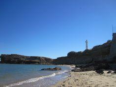 """Cove where I find beachglass """"stones"""" in San Felipe"""