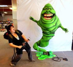 Gallery1988′s The Ghostbusters 30th Anniversary Show located Booth #1806, fans will have the chance to get their photos taken with Slimer created by Pretty in Plastic.