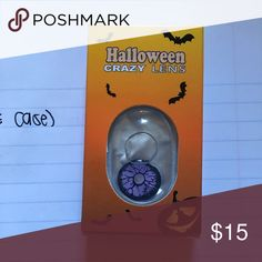 HALLOWEEN LENS + CASE 1 pair + a FREE case with purchase. BUNDLE and save even more!! Accessories Hair Accessories