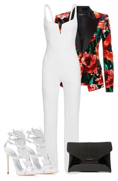 """Untitled #84"" by styledbyloho ❤ liked on Polyvore featuring Balmain, Giuseppe Zanotti and Givenchy"