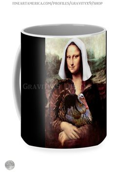 * Mona Lisa Pilgrim Thanksgiving Mug by #Gravityx9 at FineArtAmerica and Pixels * This design is available on home decor, shirts, posters and more. *Thanksgiving coffee mugs * holiday coffee mug * coffee mugs gift ideas * Thanksgiving coffee mugs gift * generic gift coffee mugs * gift ideas coworker * gift ideas friends * gift ideas adults * gift ideas coffee lovers * #Thanksgiving #Thanksgivingmug #holidaymug #monalisa #Thanksgivingcoffeemug #Thanksgiving #Fallseasonsbest #Spoofingthearts…