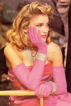 Madonna xo!!! I've fantasized about being her in material girl since the first time I saw it and was in heaven!
