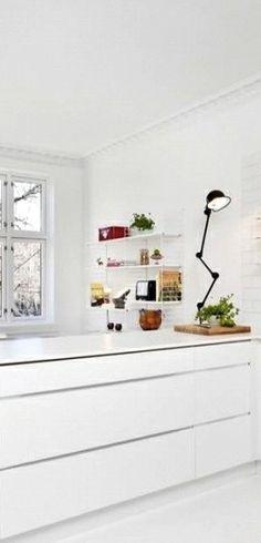 Via NordicDays.nl | Norwegian Blogger Home for Sale | White